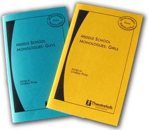 Two New Middle School Monologue Books!