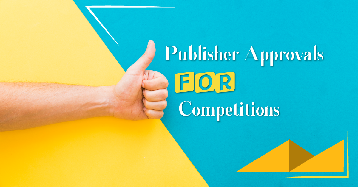 Publisher approvals for competition scenes and monologues