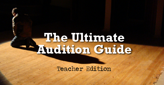 The ultimate audition guide