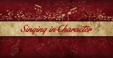 Song Analysis: Singing in Character