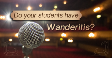 Do your acting students have wanderitis