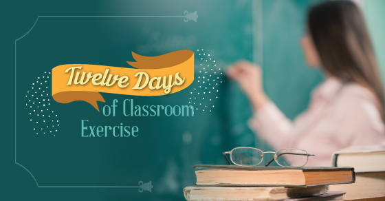 12 Days of Classroom Exercises