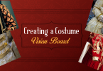 Creating a costume vision board