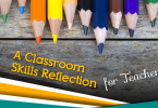 classroom skills reflection