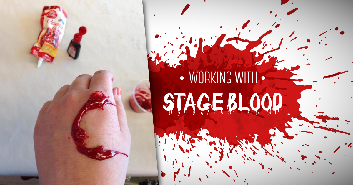 Working with stage blood