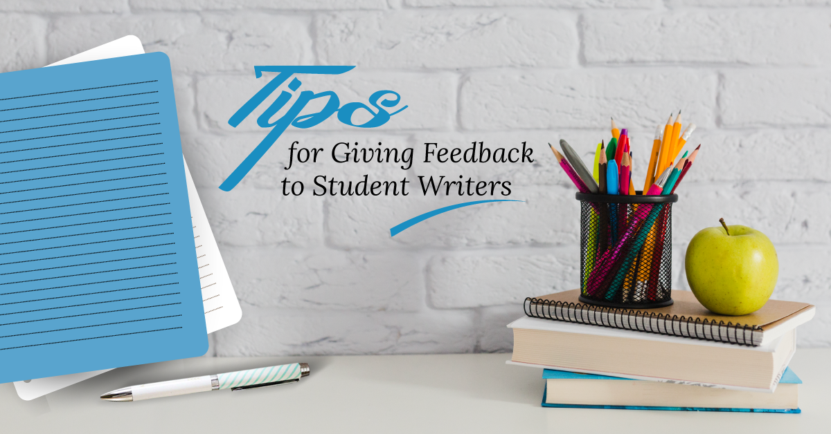 Giving feedback to student writers
