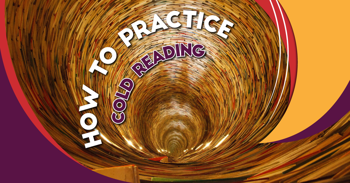 How to practice cold reading