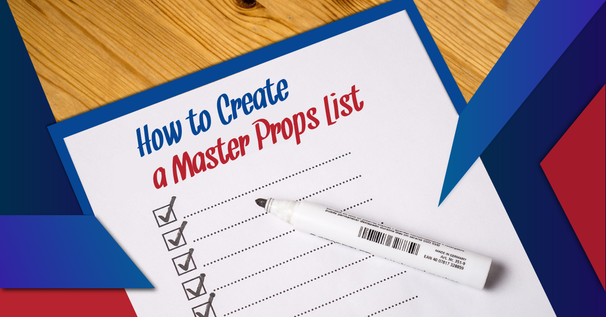 How to create a master props list