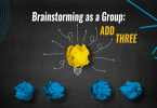 Brainstorming as a Group