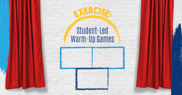 Exercise: Student led warm-up games