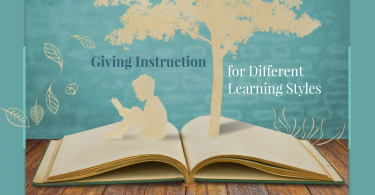 Instruction for Different Learning Styles