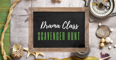 Drama Games Scavenger Hunt