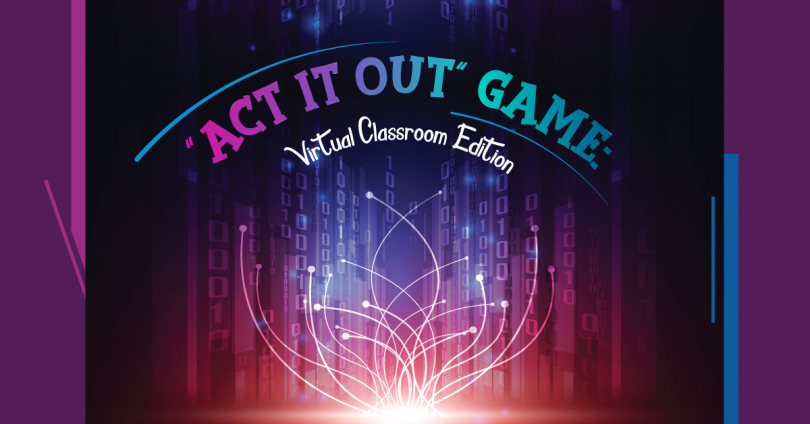 Act it out game - classroom rules