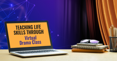 Teaching life skills through virtual drama class
