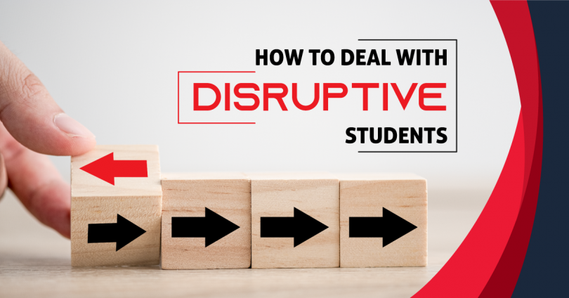 How to deal with disruptive students