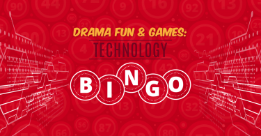 Drama fun and games: technology bingo