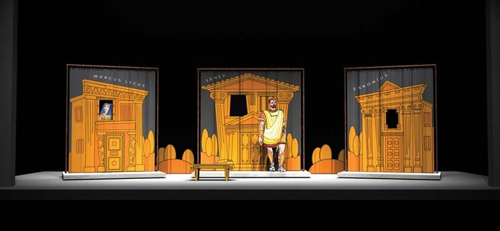 Set Design How To Cut A Big Musical Down To Size
