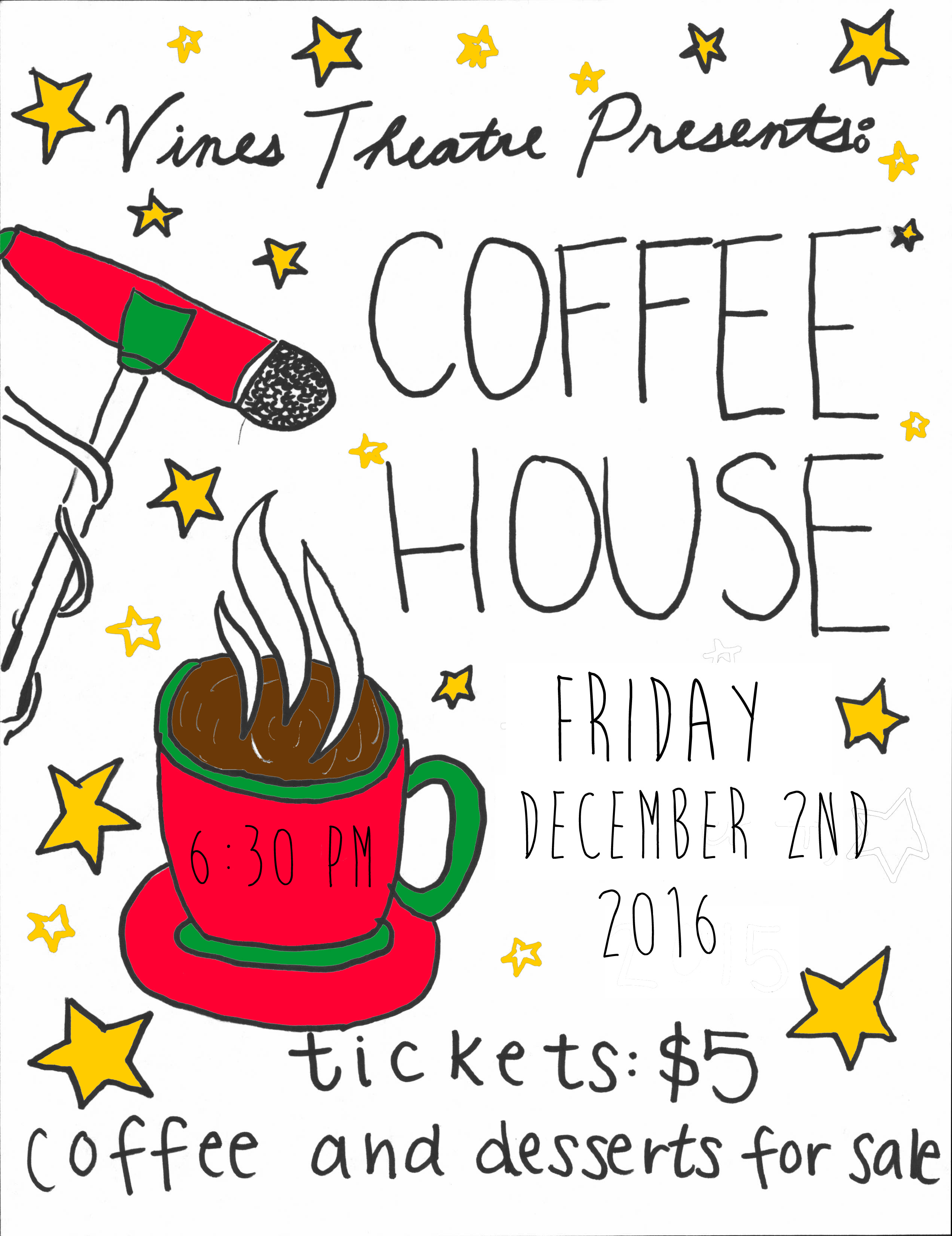 Theatre Program Fundraising Idea: Do your own coffee house - The ...